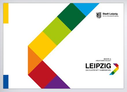 Logo & Broschüre: Cluster Kreativwirtschaft der Stadt Leipzig