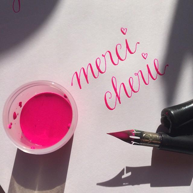 Kalligraphie gouache