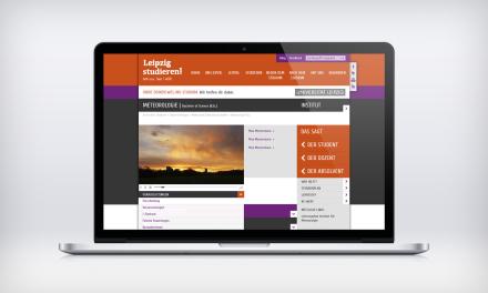 Webdesign: Leipzig studieren!