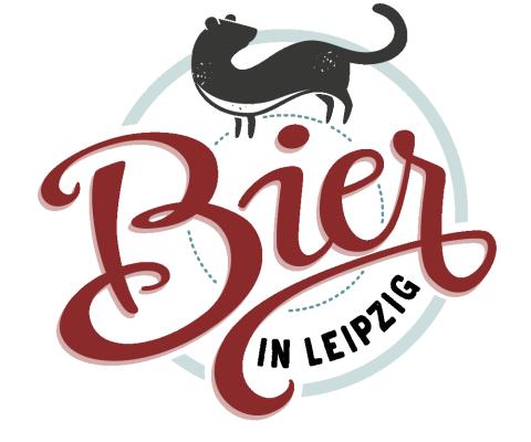 Logo Lettering Bier in Leipzig