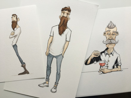 Character Design: Hipster